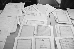اقدامات دادگاه برای الزام به تنظیم سند